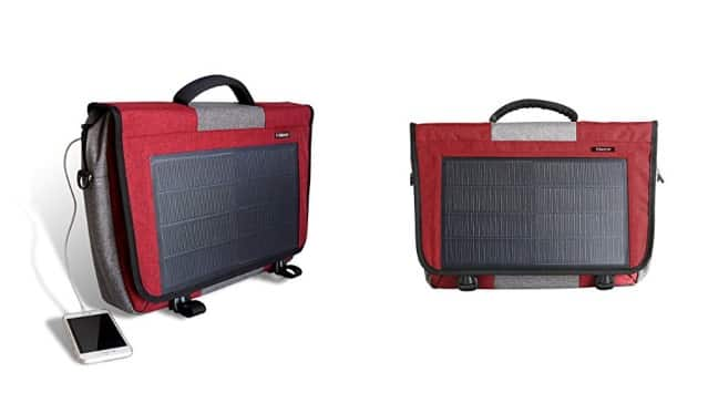 Solar Powered Messenger Bag 1
