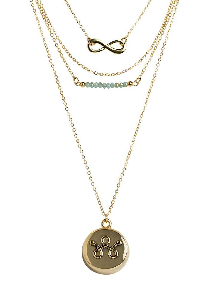 Gold Necklace Personal Safety Device 3