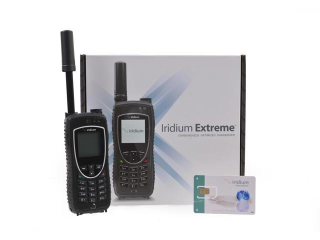 Iridium 9575 Satellite Phone & SIM Card With 200 Minutes For 180 Days