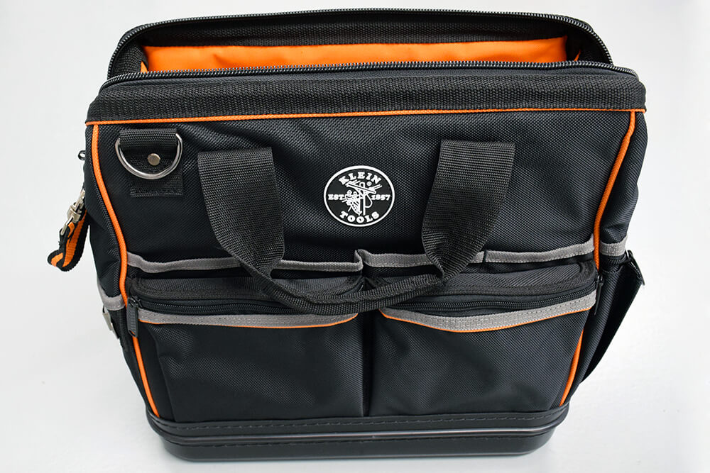 Klein Tradesman Pro Organiser Tool Bag with LED Light ...