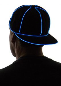 Light Up Snapback Hat 10