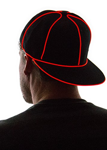 Neon Nightlife Light Up Snapback Hat | Light Up Wear