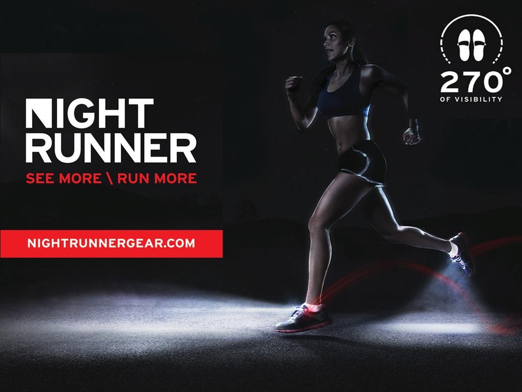 Night Runner 270° Shoe Lights by Doug and Renata Storer ...