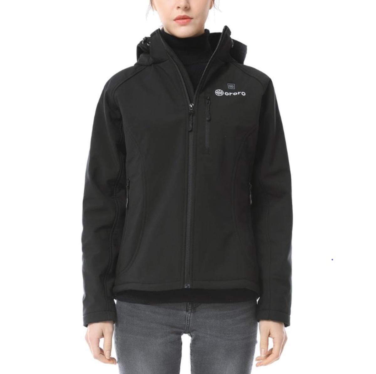 ORORO Women's Slim Fit Heated Jacket