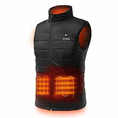 ORORO Men's Lightweight Heated Vest 8