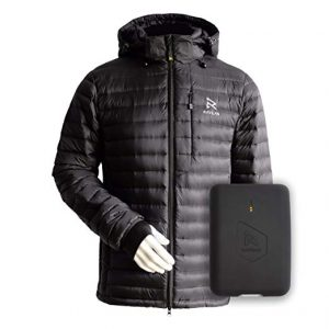 Ravean Down Heated Jacket - Men 10