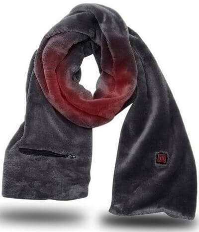 Rechargeable Battery Operated Heated Neck Scarf
