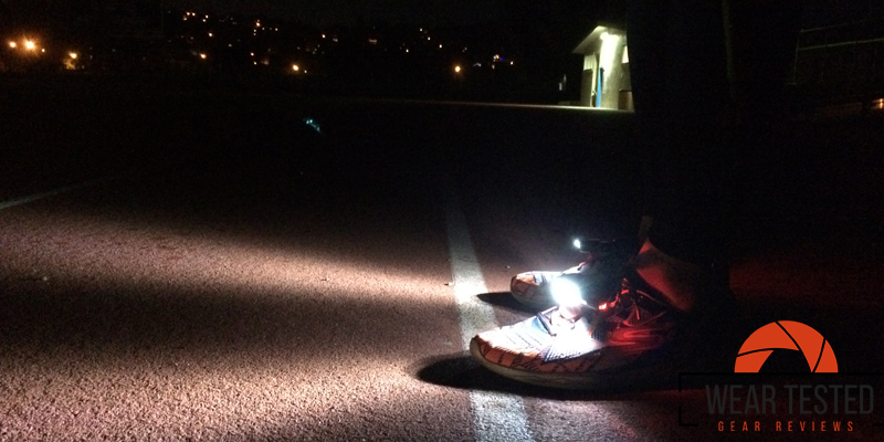 See more and run more safely with the Night Runner 270 ...