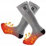 SNOW DEER Upgraded Heated Socks 8