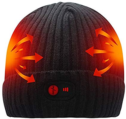 Rechargeable Battery Heated Beanie 2