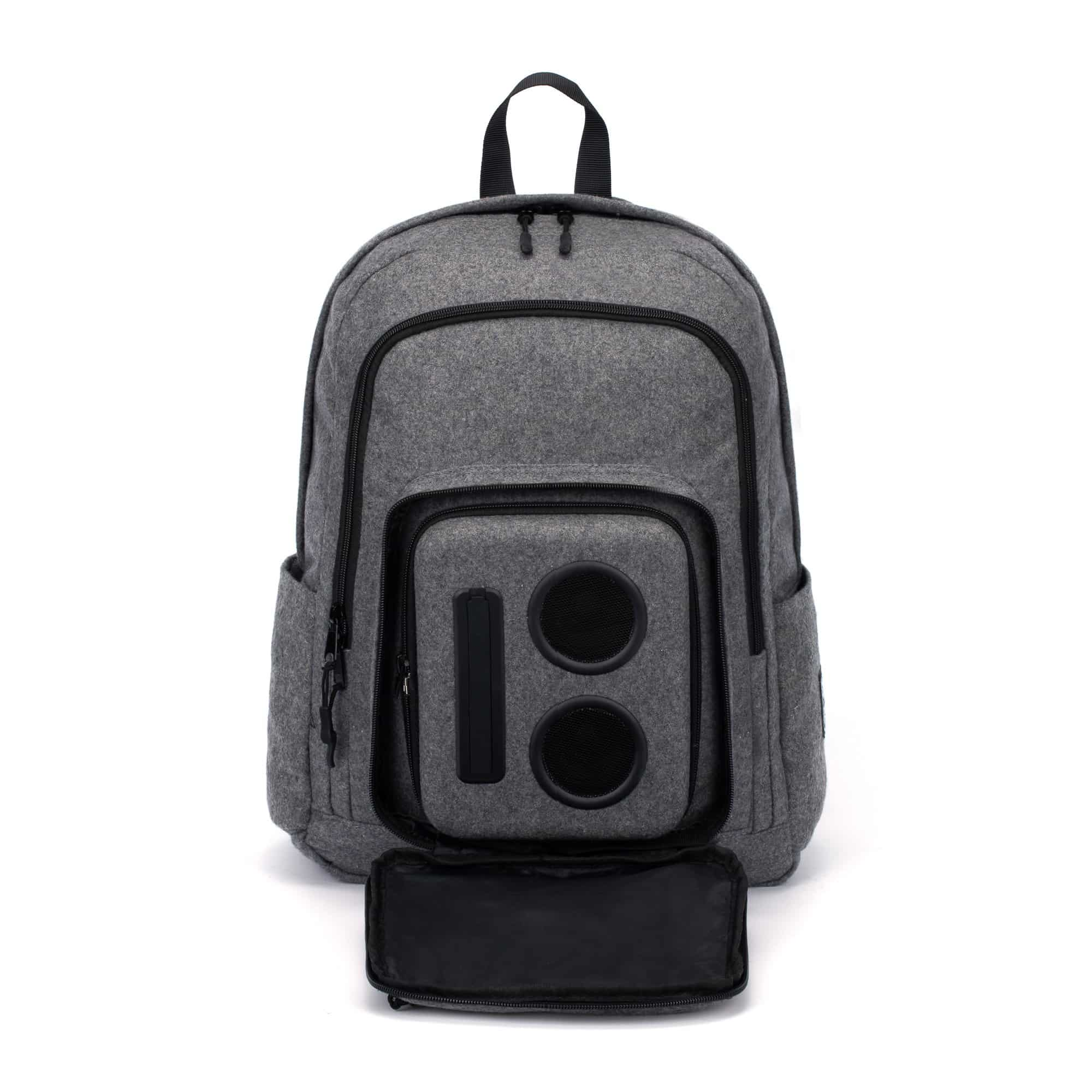 Bluetooth Speaker Backpack with 20-Watt Speakers and Sub 2