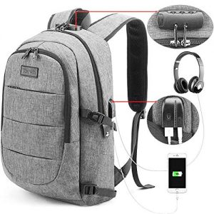 Business Laptop Backpack with Passthru Ports 10