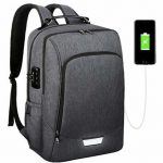 Backpack with Built-In Zipper Lock 2