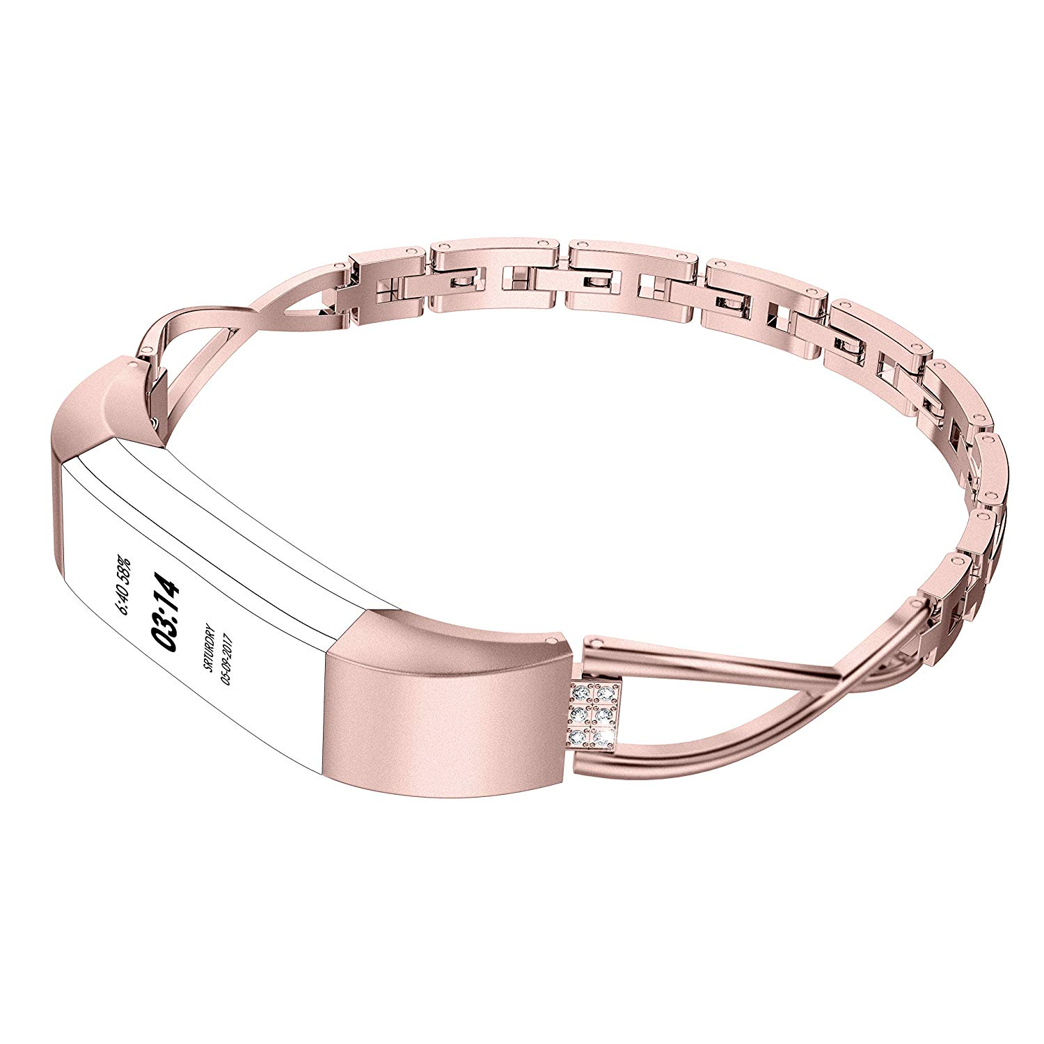 Rose Gold Band for Fitbit Altra 11