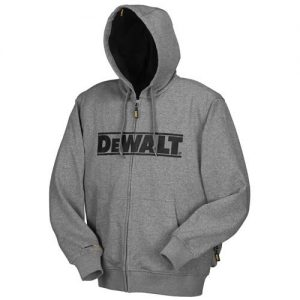 Gray Heated Hoodie Sweatshirt Jacket 9