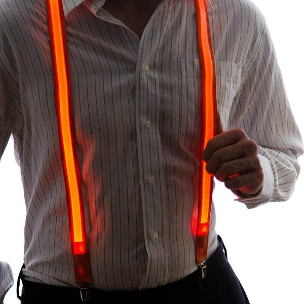 LED Light Up Suspenders 4