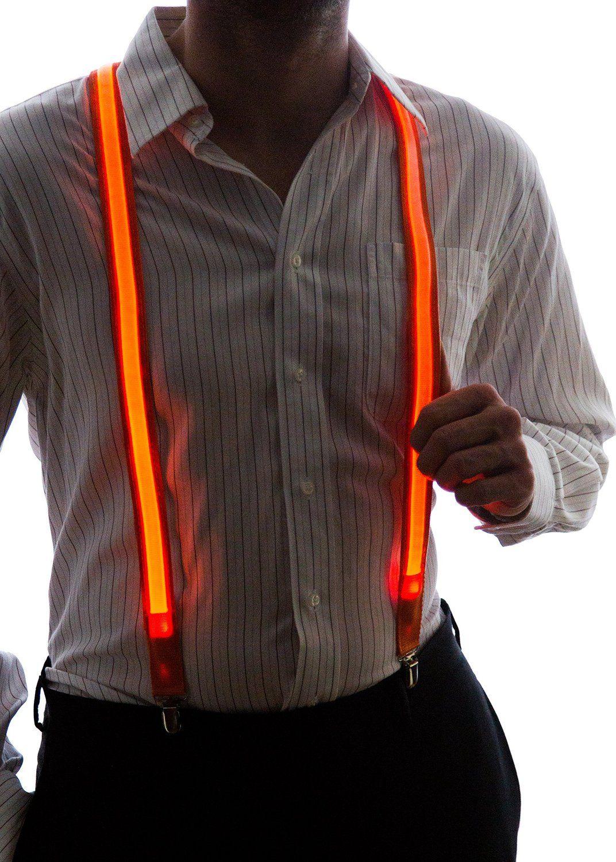 LED Light Up Suspenders 1