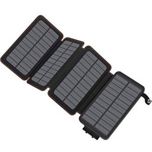 Portable Solar Charger Powerbank 1