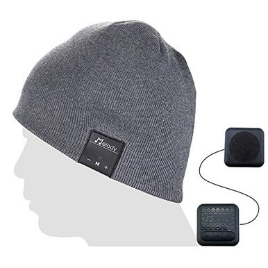 Coeuspow Bluetooth Music Beanie Cap, Wireless 4.1 Stereo ...