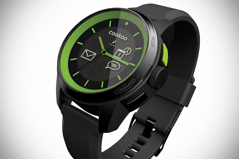 COOKOO Analog Smartwatch - MIKESHOUTS