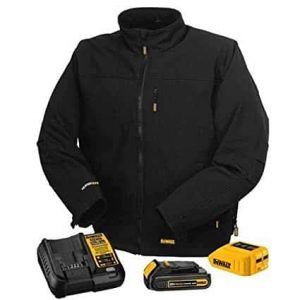 Max Black Heated Jacket 11