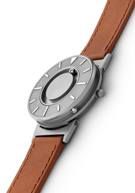 Eone Bradley Voyager Italian Leather Tan | Watches.com