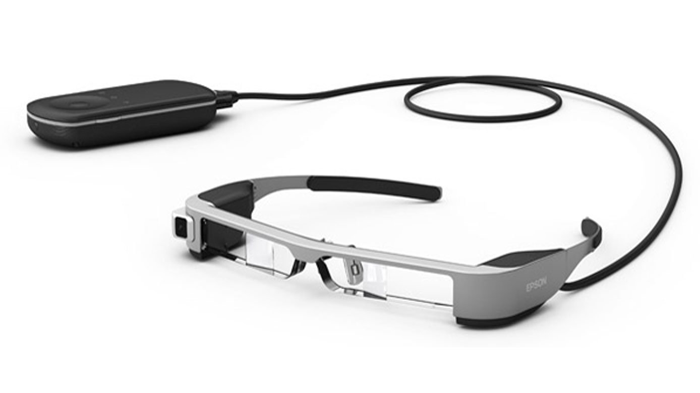 Epson's Moverio BT-300 Smartglasses: Fly Drones, Train ...