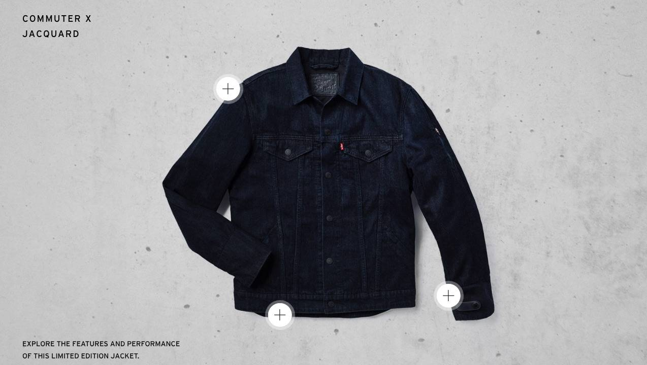 Google launches Levi's Commuter Trucker Jacket with ...