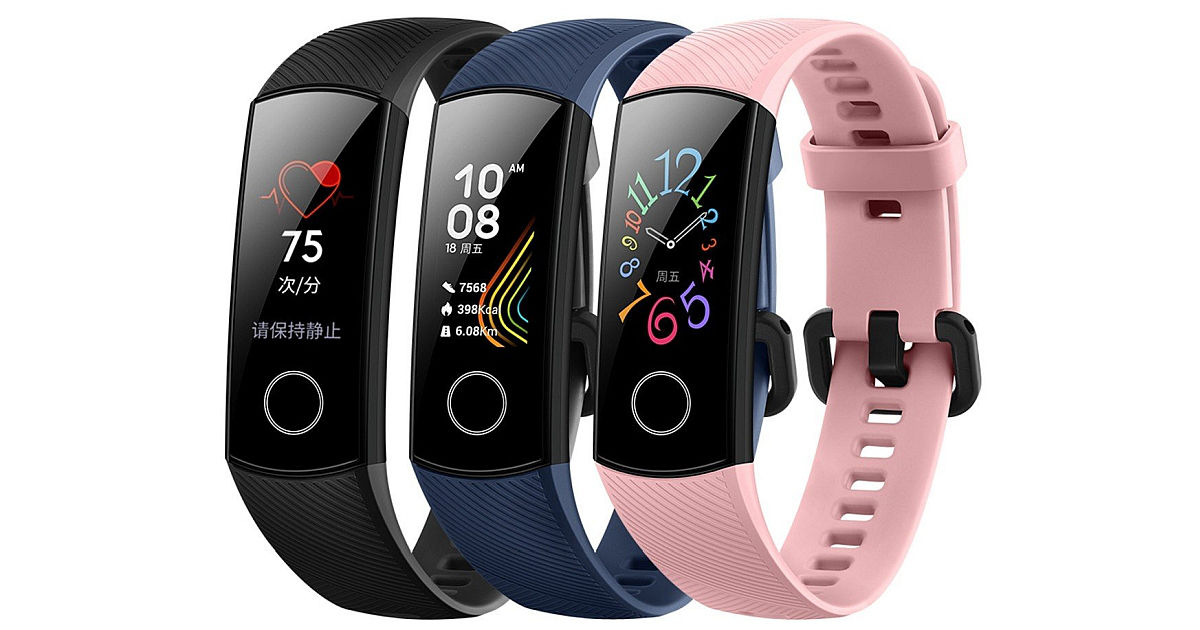 Honor Band 5 with 0.95-inch AMOLED Color Display, 50-meter ...