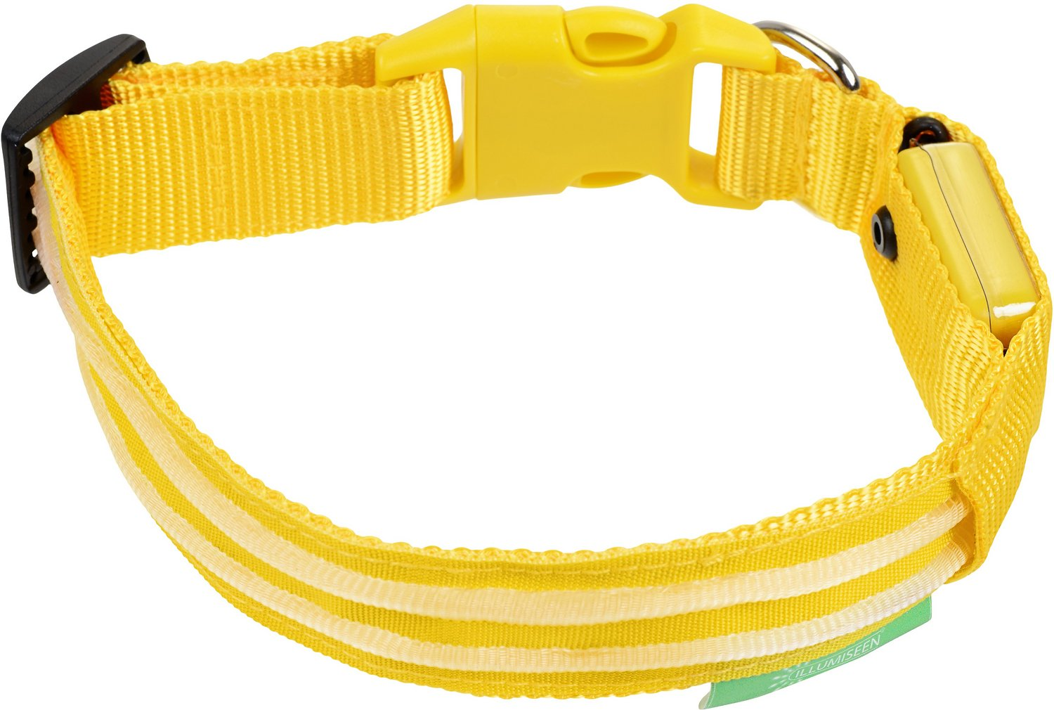 Illumiseen LED USB Rechargeable Dog Collar, XX-Small ...