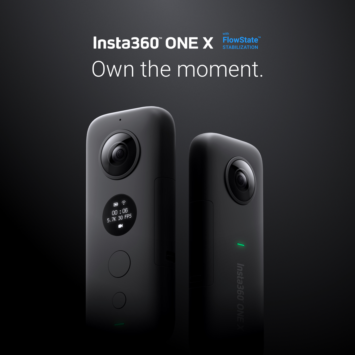 Insta360 ONE X - Own the moment.