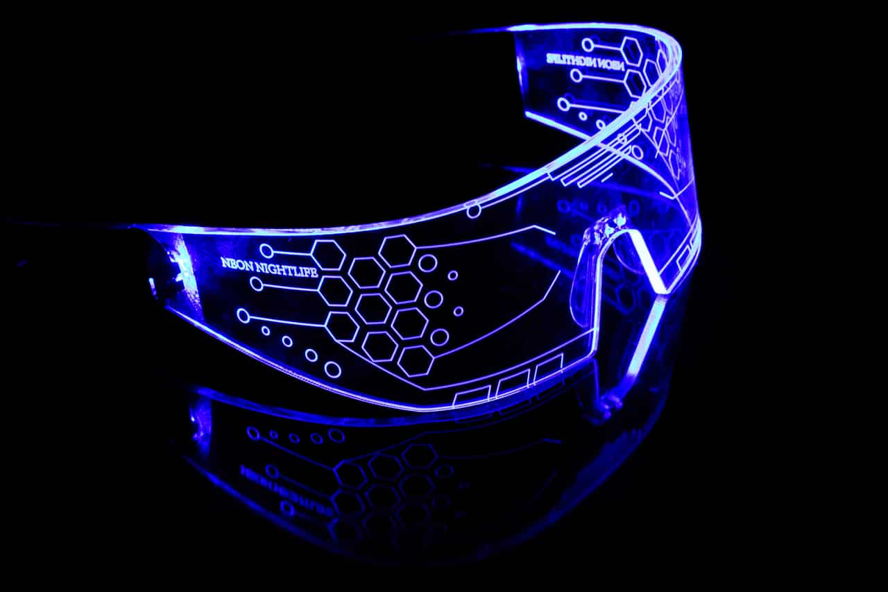 LED Light Up Glasses 2