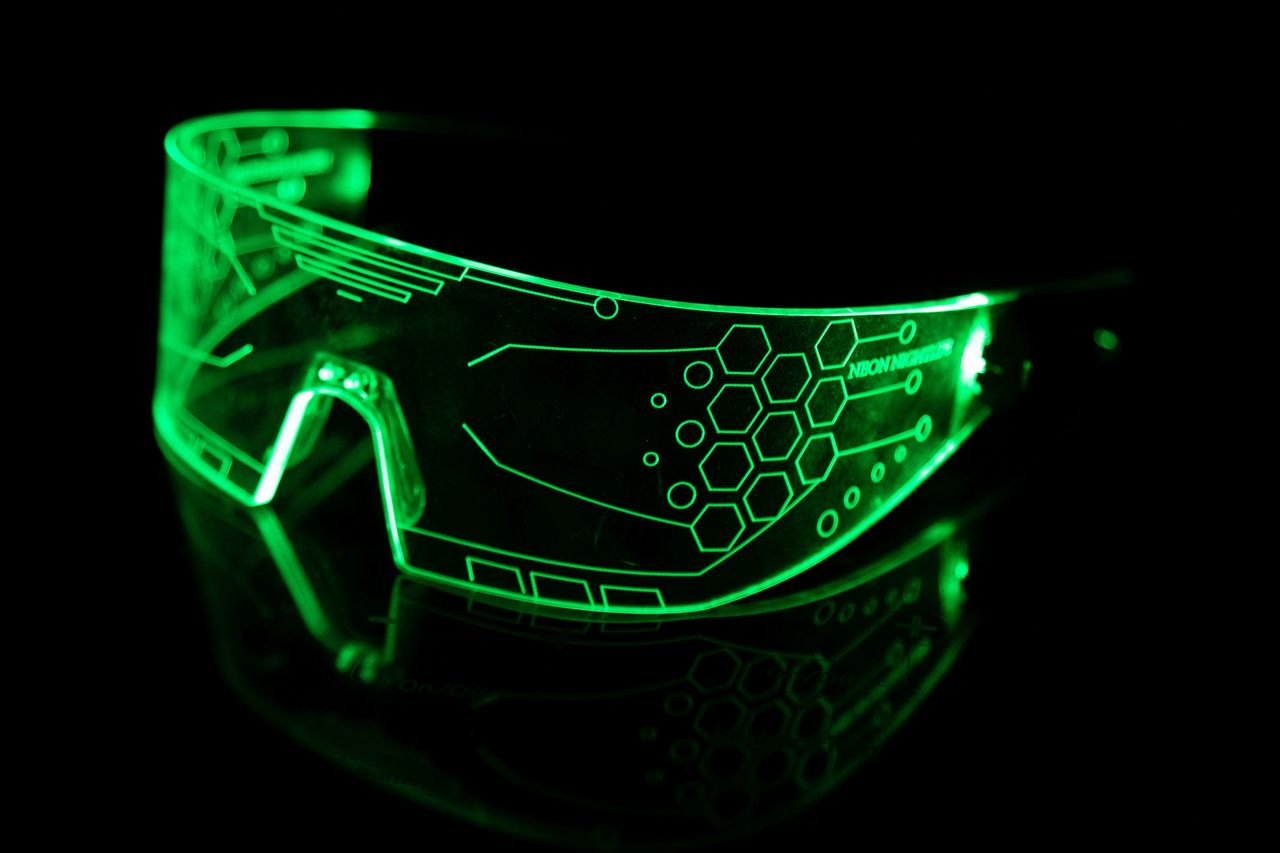 Neon Nightlife Light Glasses