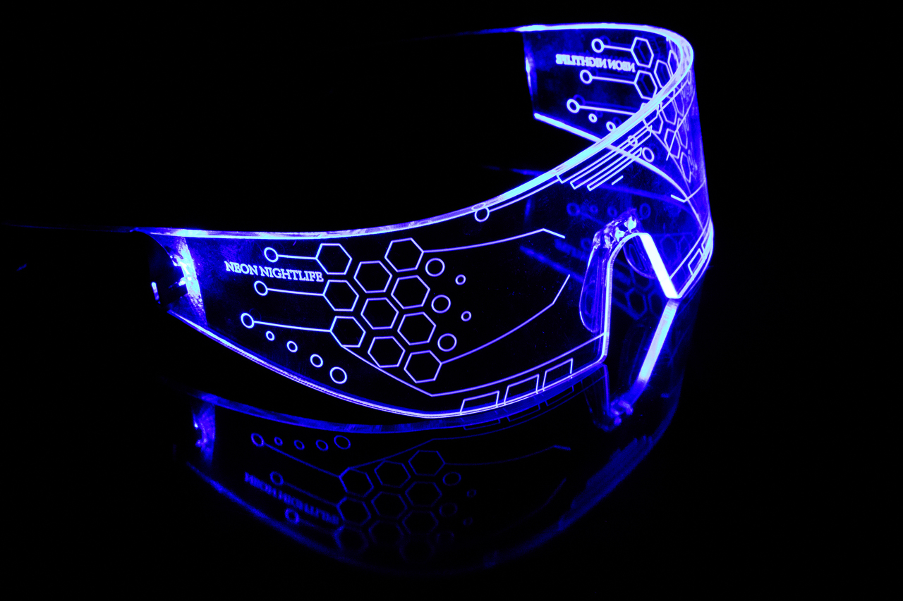 Neon Nightlife Light Glasses