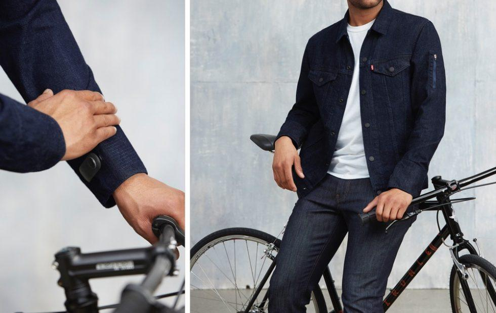Levi's Trucker Jacket with Jacquard