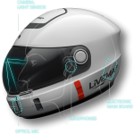 Smart AR Motorcycle Helmet 6