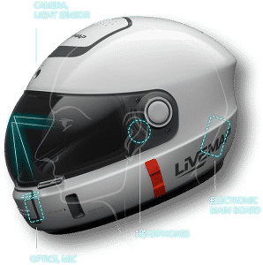 Smart AR Motorcycle Helmet 16
