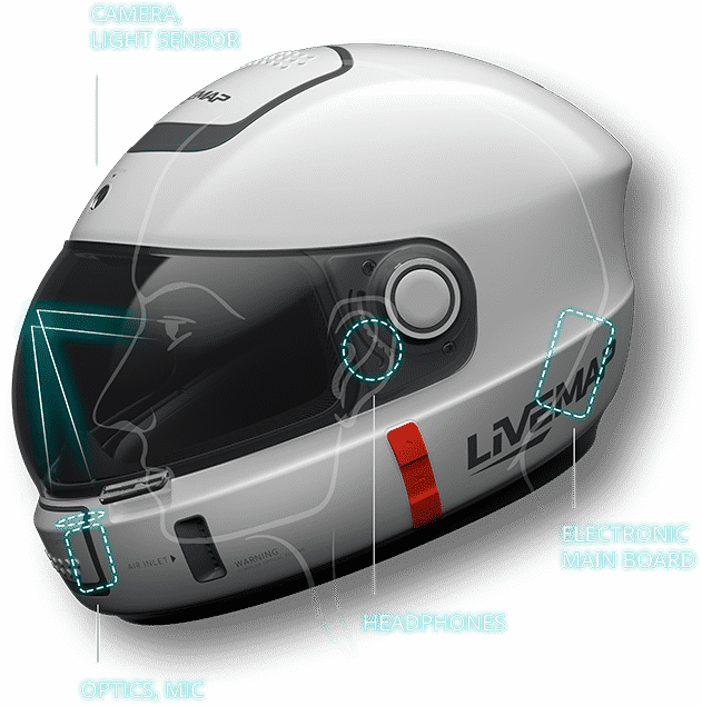Smart AR Motorcycle Helmet 10