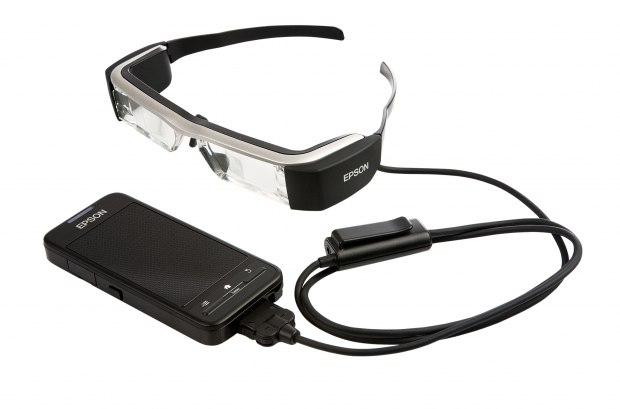 MWC 2016 - Epson Moverio BT-300 Smart Glasses Announced