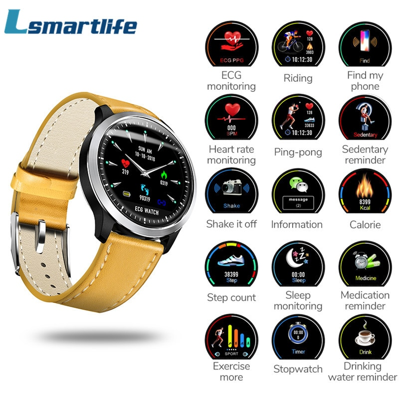 N58 ECG Smart Watch With Electrocardiogram Measurement Men ...