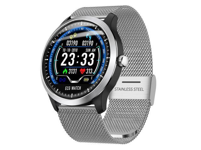 N58 Smart Watch Sports Bluetooth4.2 ECG+PPG ECG HRV Report Heart Rate Blood Pressure Monitoring Pedometer IP67 Smart Bracelet