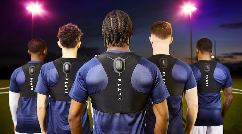 PLAYR Smart Soccer Vest