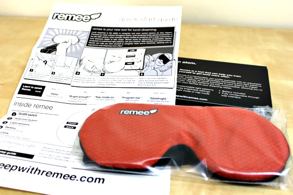 Remee Lucid Dreaming Mask Review and Giveaway