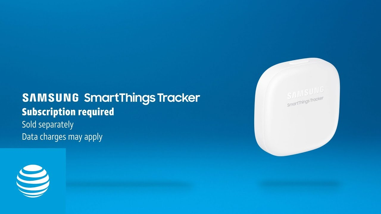 Samsung SmartThings Tracker | AT&T - YouTube
