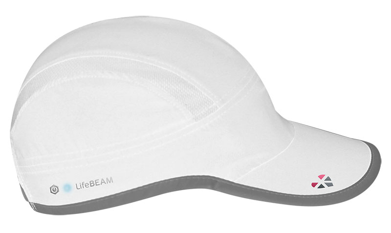 LifeBEAM Hat with ANT and Bluetooth 4.0 Black Silver
