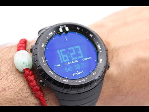 Suunto Core All Black Military Watch - YouTube