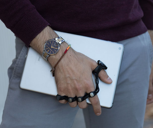 Tap Strap 2 – Wearable Keyboard and Mouse with AirMouse ...