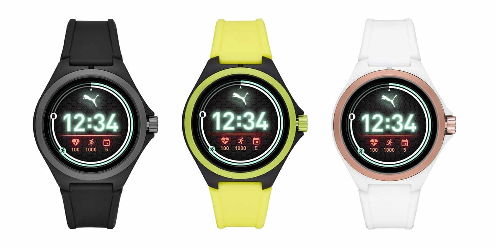PUMA Sport 44mm Heart Rate Smartwatch 20