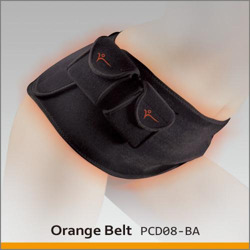 Heated Abdomen Belt (Orange Belt) 2