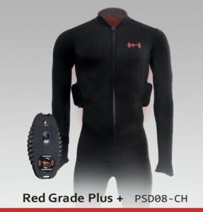 Red Grade Plus Power Heated Diving Undersuit - 100m/300ft 7